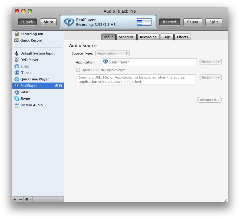 how to play audio through skype mac