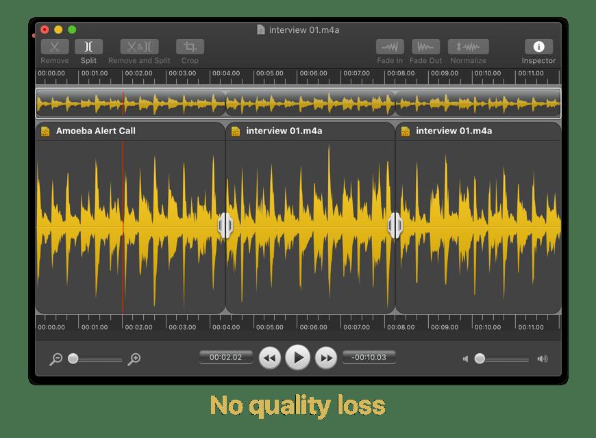 Fission 2.5.0 Mac 破解版 小巧音频编辑工具